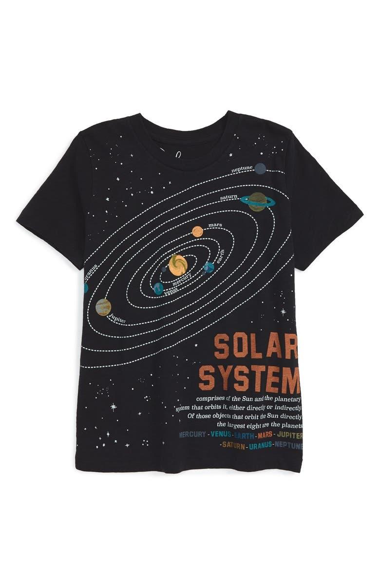 370edc4cf Peek 'Solar System' Graphic T-Shirt (Toddler Boys, Little Boys & Big ...