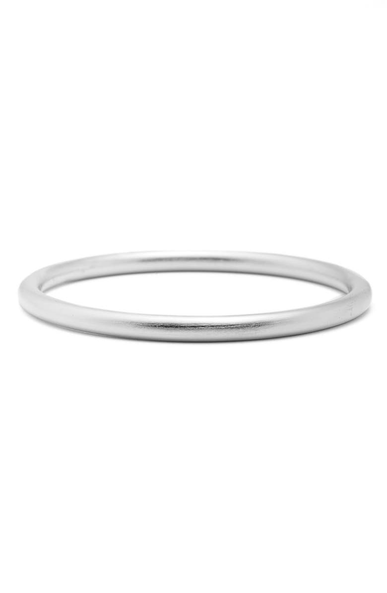 DEAN DAVIDSON Ipanema Tubular Bangle Bracelet, Main, color, SILVER
