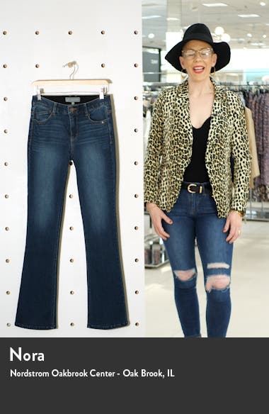 Ab-Solution High Waist Itty Bitty Bootcut Jeans, sales video thumbnail