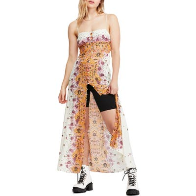 Free People Morning Song Print Maxi Dress, Ivory