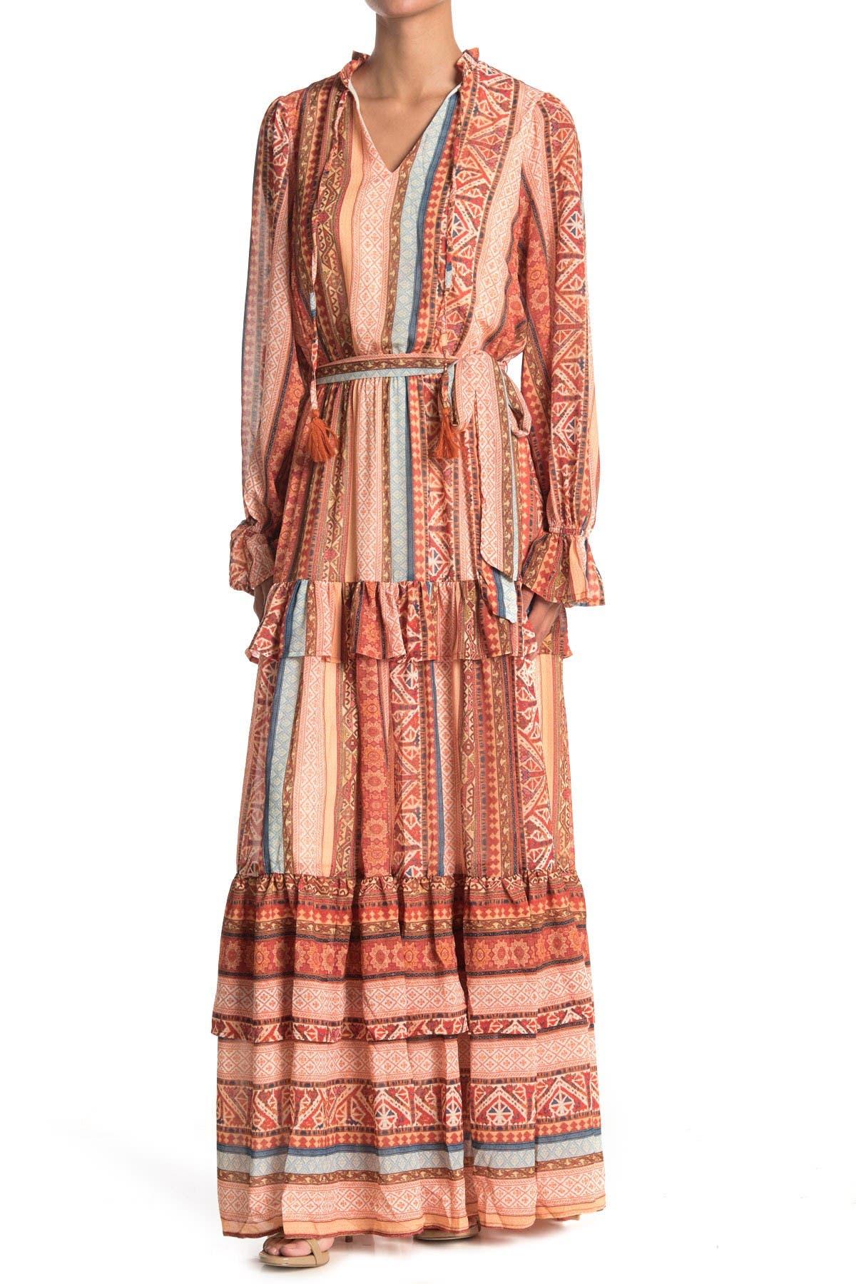 Image of Flying Tomato Printed Maxi Dress