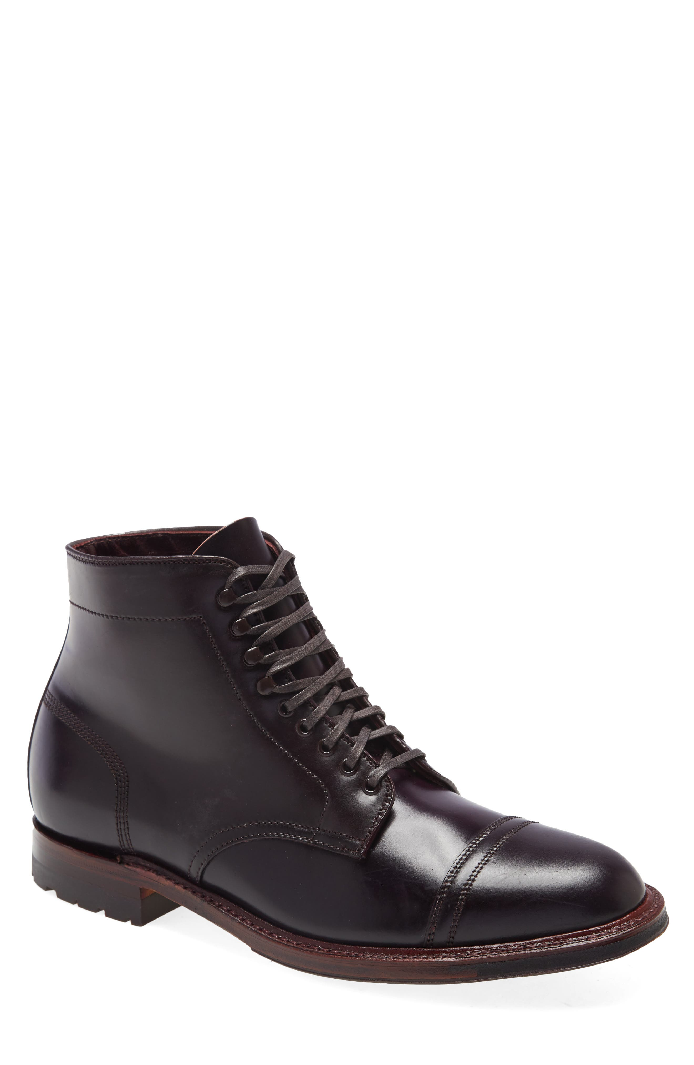 Straight Tip Blucher Boot
