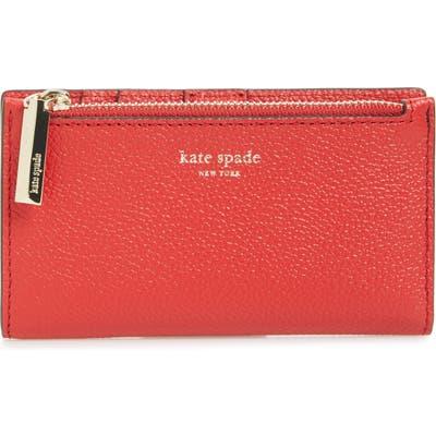 Kate Spade New York Margaux Slim Bifold Wallet - Red