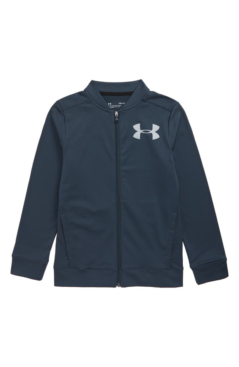 UNDER ARMOUR Pennant 2.0 Jacket, Main, color, WIRE/ MOD GRAY