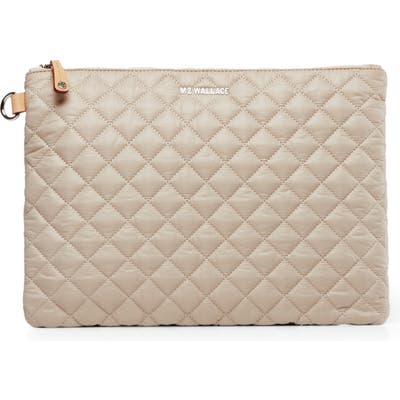 Mz Wallace Metro Pouch - Ivory