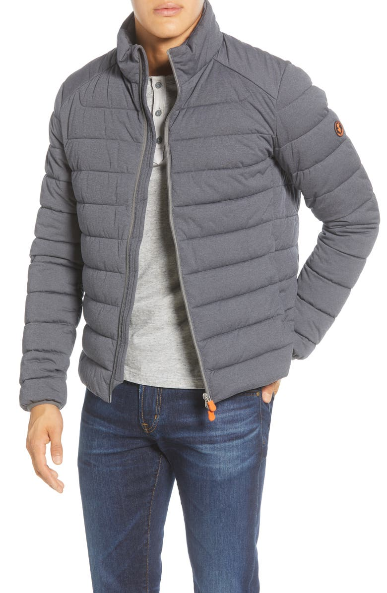 SAVE THE DUCK Stretch Waterproof Puffer Jacket, Main, color, 023