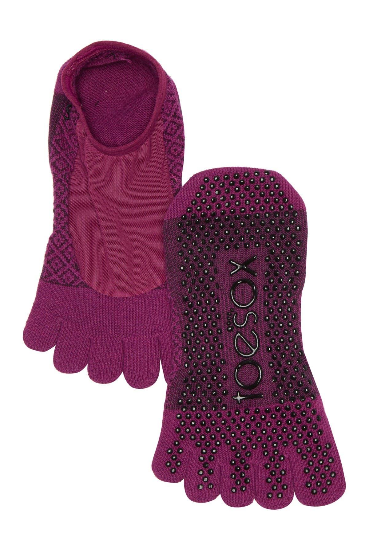 Image of ToeSox Full Toe Luna Grip Socks