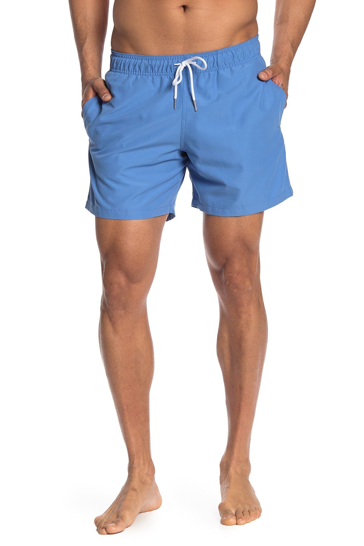 Image of Slate & Stone Solid Swim Shorts