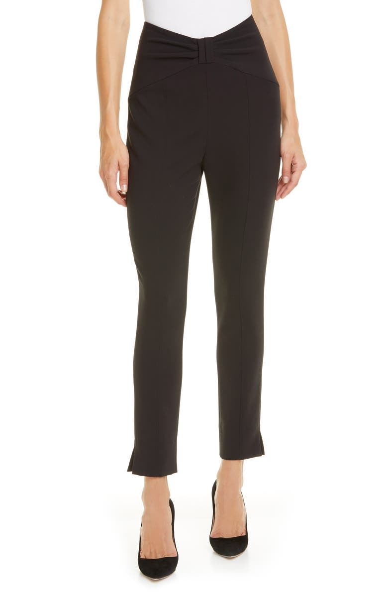 VERONICA BEARD Ferdinand Pants, Main, color, BLACK
