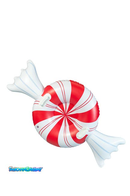 "Image of POOLCANDY SnowCandy Peppermint 42"" Snow Tube"