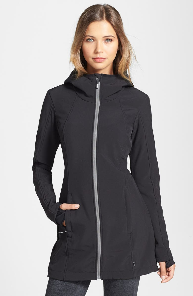 Bench Haphazard Hooded Soft Shell Jacket Nordstrom