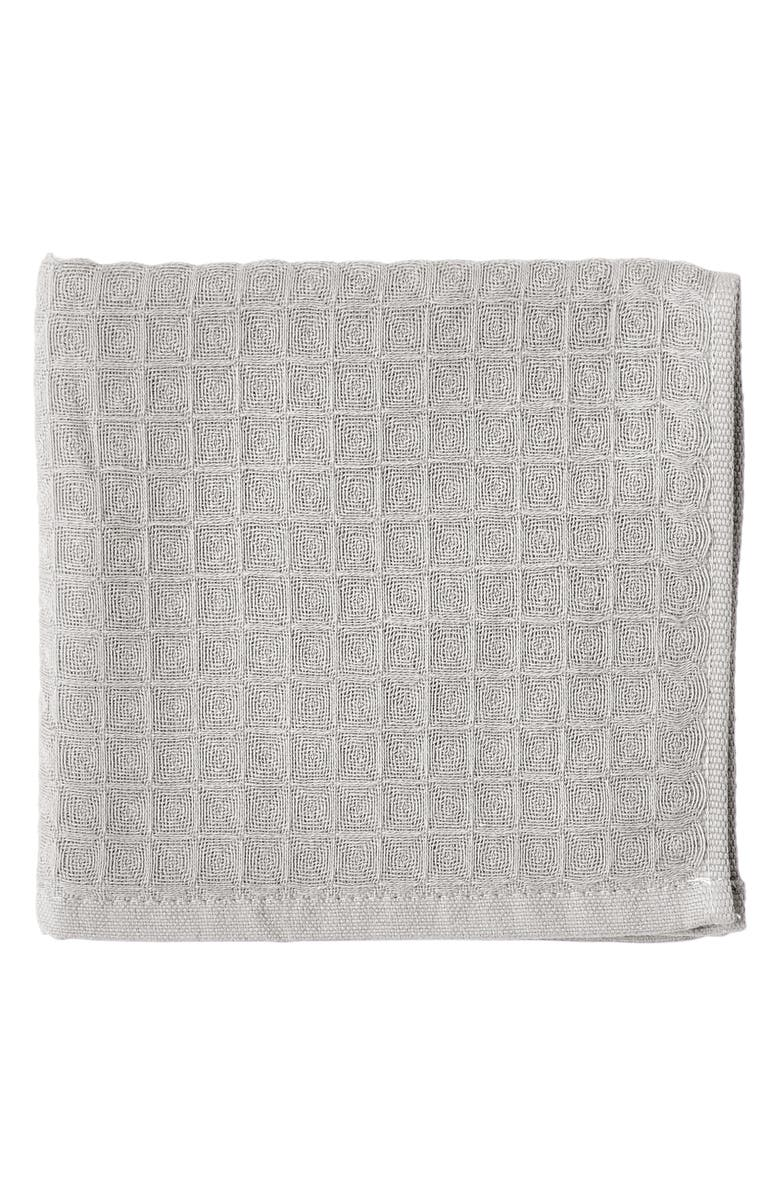 UCHINO Waffle Washcloth, Main, color, LINEN