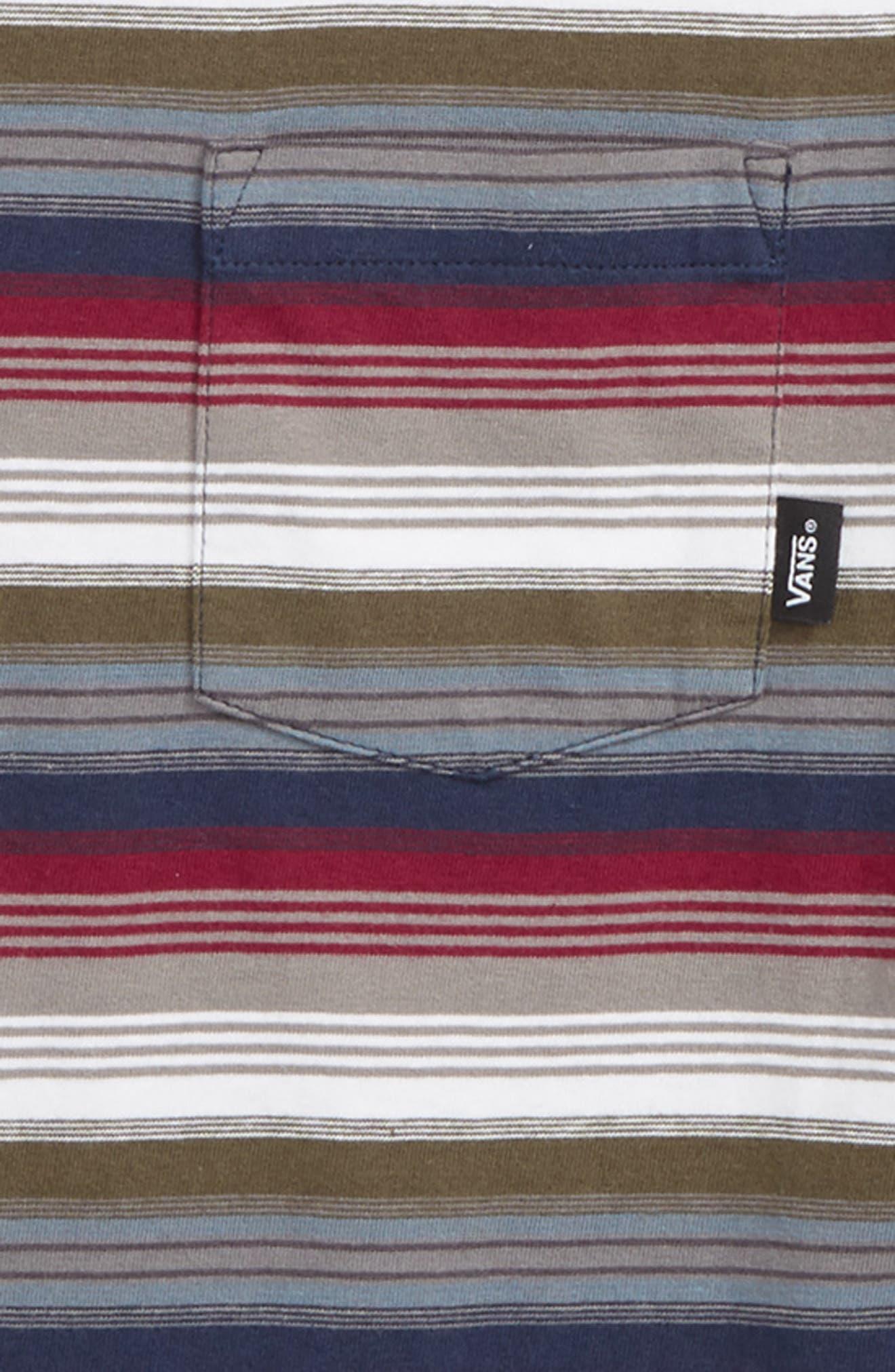 ,                             Redmond Stripe T-Shirt,                             Alternate thumbnail 4, color,                             610