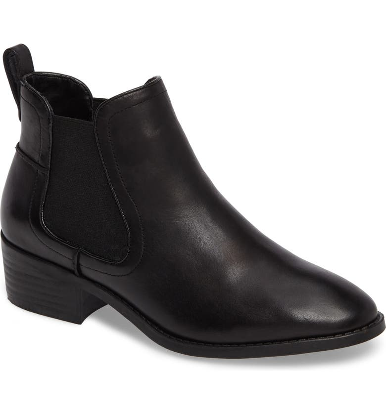 STEVE MADDEN Dicey Chelsea Boot, Main, color, 001