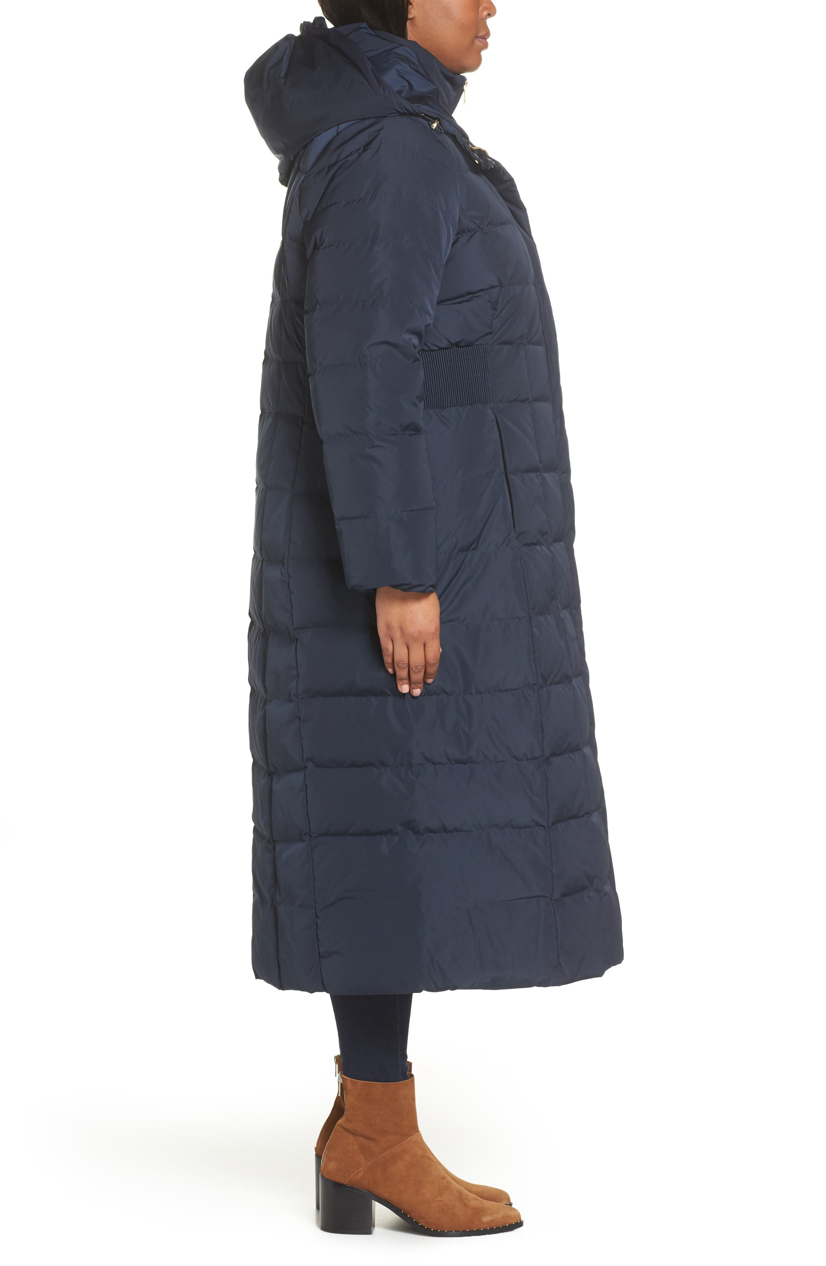 ,                             Quilted Coat with Inner Bib,                             Alternate thumbnail 16, color,                             410