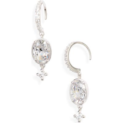Nadri Issa Cubic Zirconia Short Drop Earrings