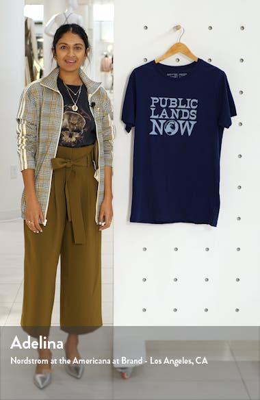 Public Lands Now Organic Cotton T-Shirt, sales video thumbnail