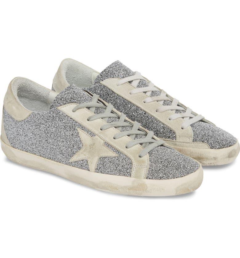 GOLDEN GOOSE Superstar Crystal Embellished Sneaker, Main, color, 040