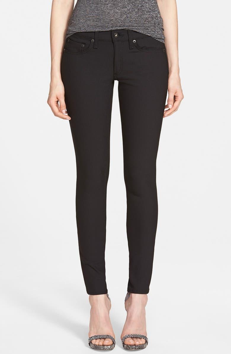 RAG & BONE/JEAN Skinny Jeans, Main, color, 001