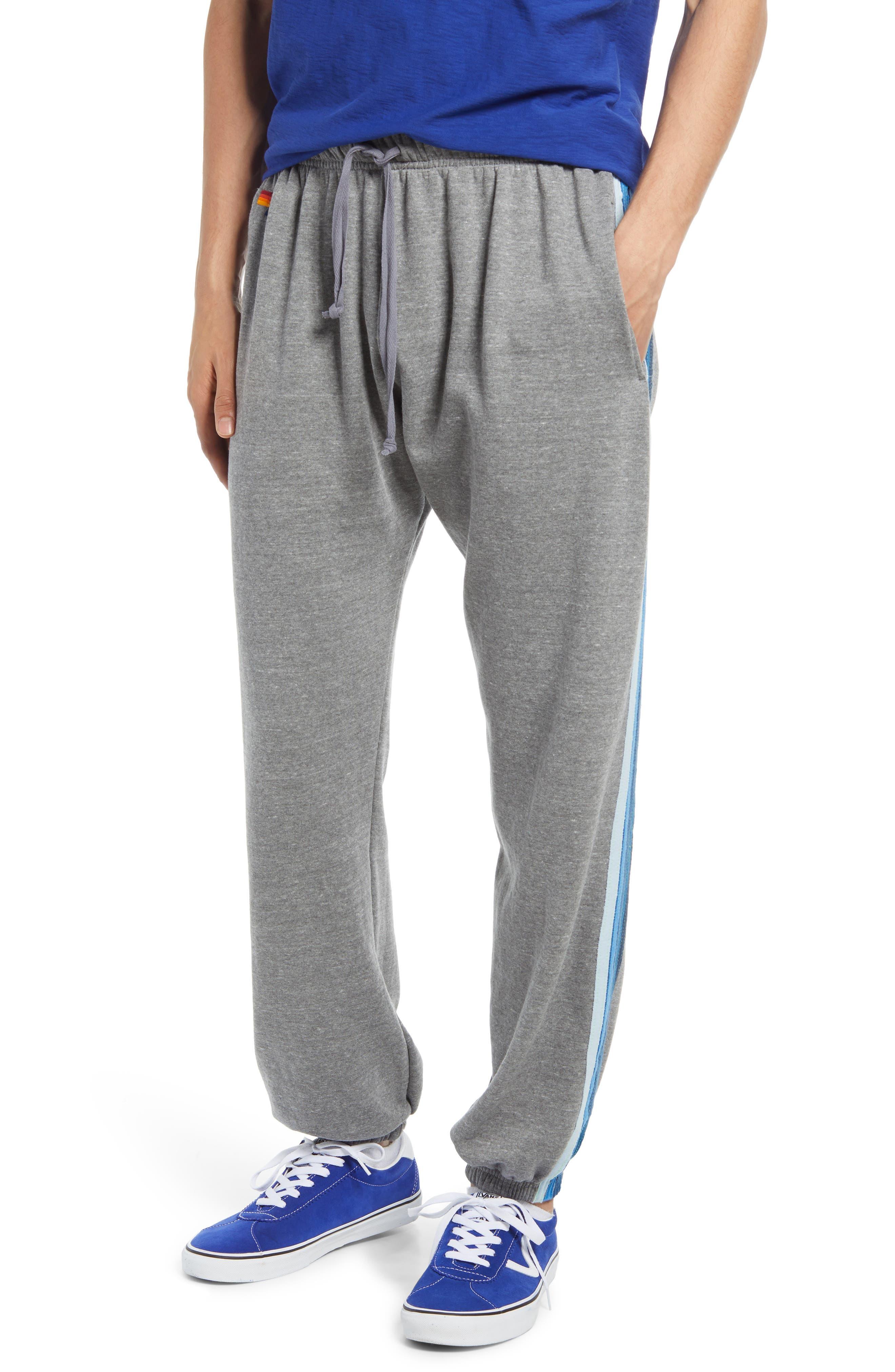 5-Stripe Slim Fit Sweatpants