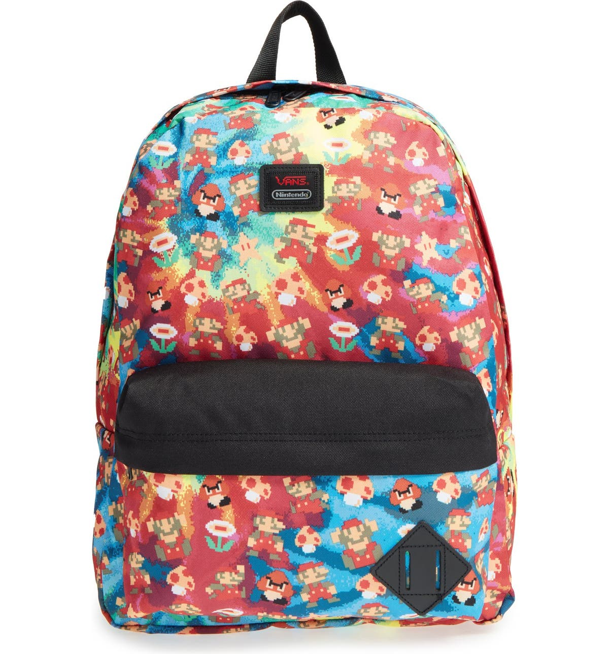 5ea83c6446c Vans x Nintendo 'Super Mario Bros. - Old Skool II' Backpack (Kids) |  Nordstrom