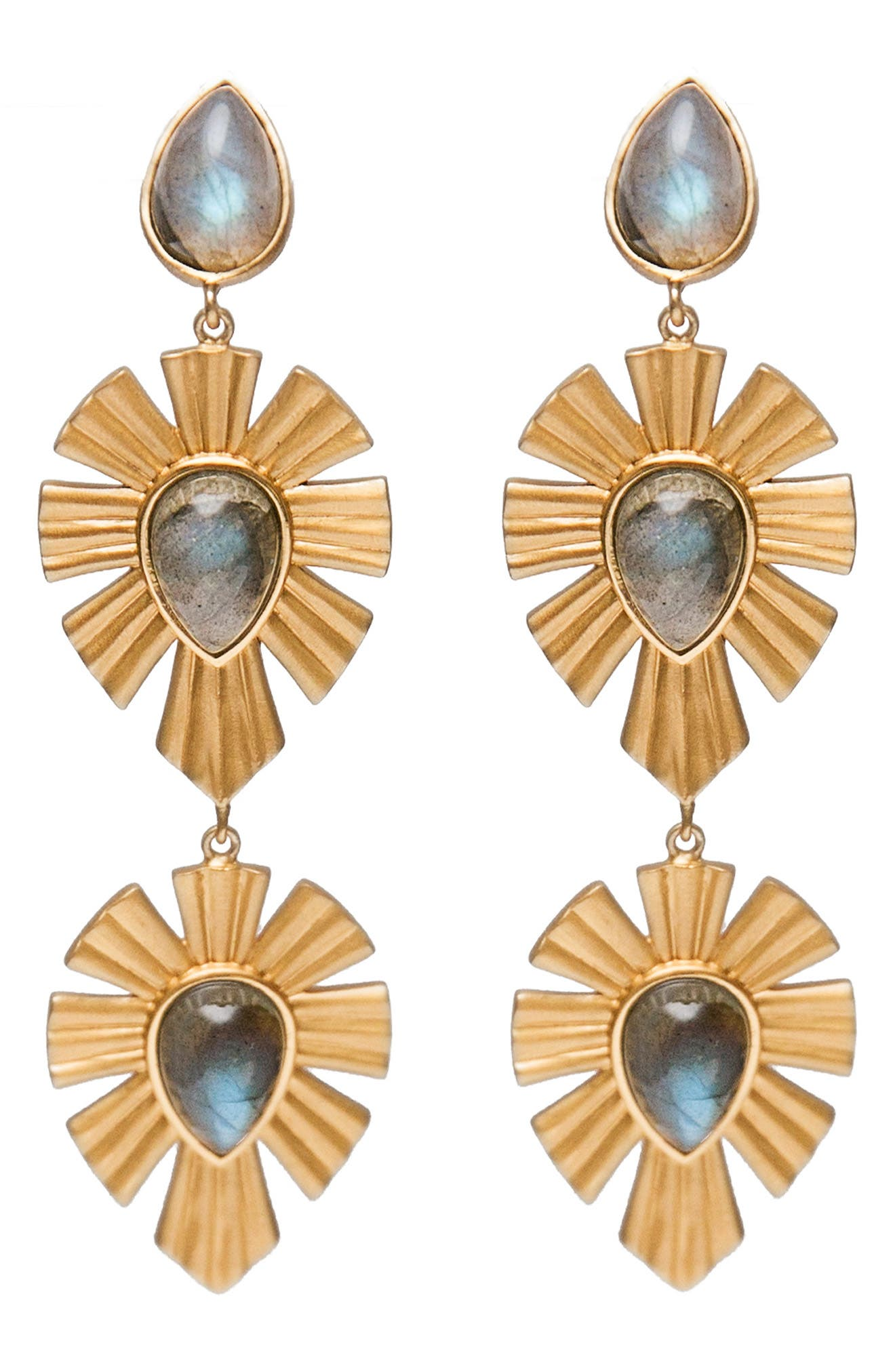 Royal Radiance Drop Earrings