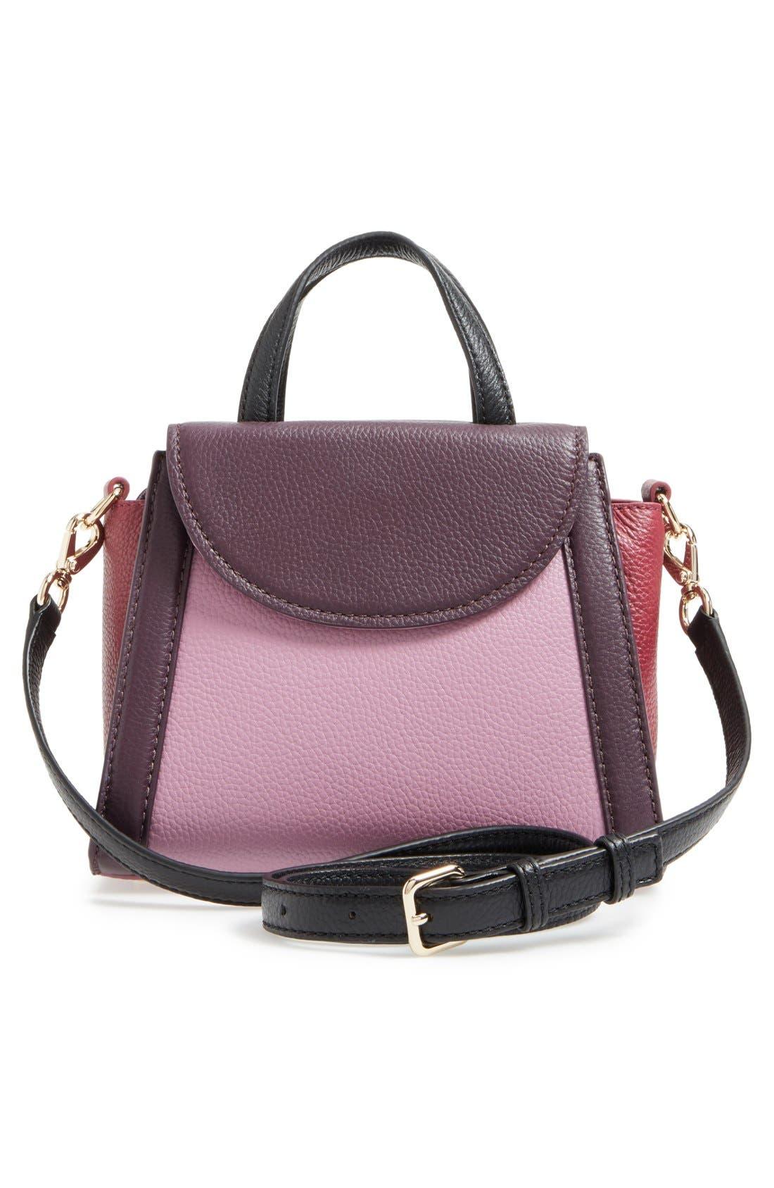 ,                             'cobble hill - small adrien' leather satchel,                             Alternate thumbnail 22, color,                             930