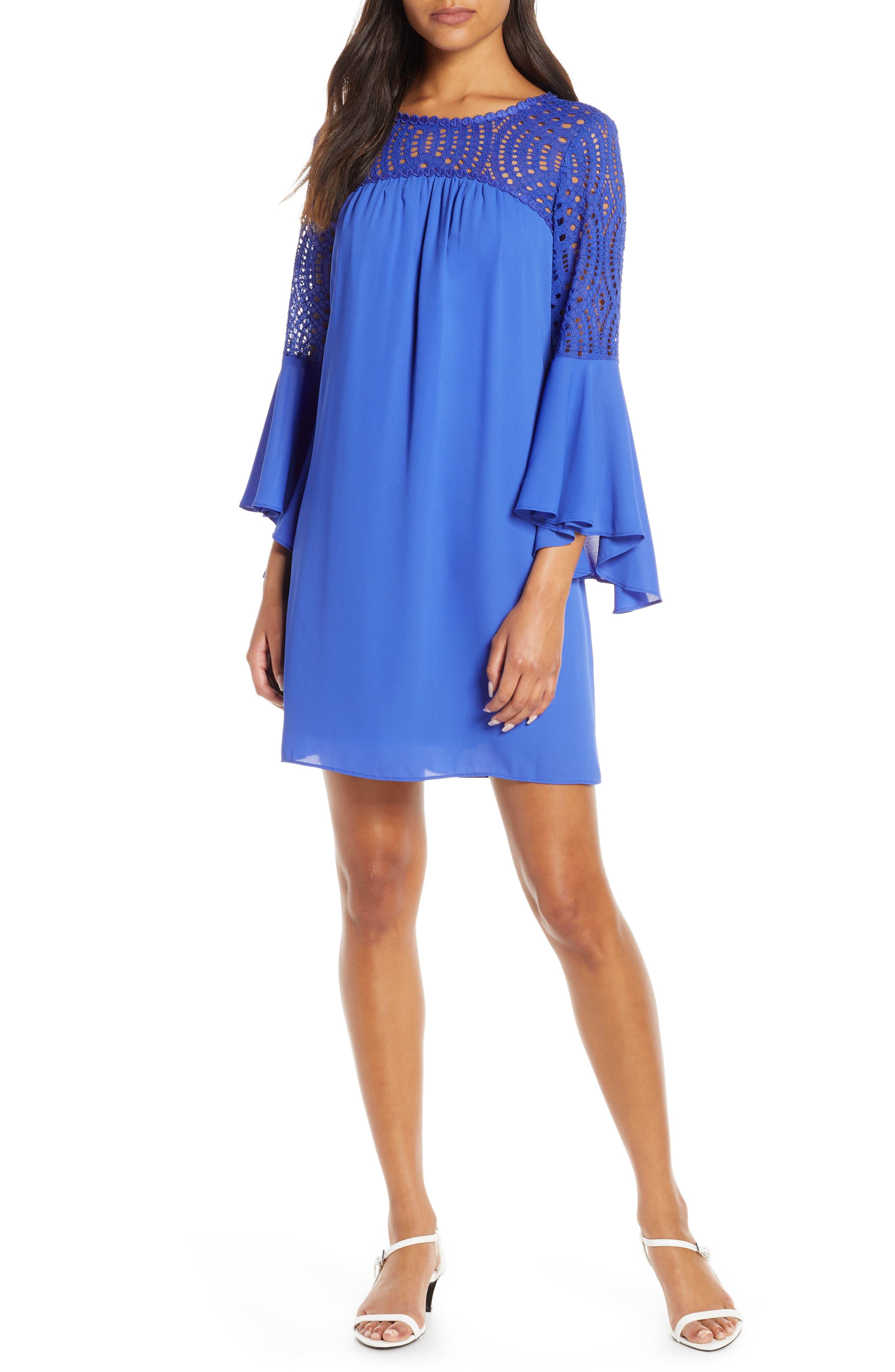 Lilly Pulitzer Amenna Shift Dress, Blue