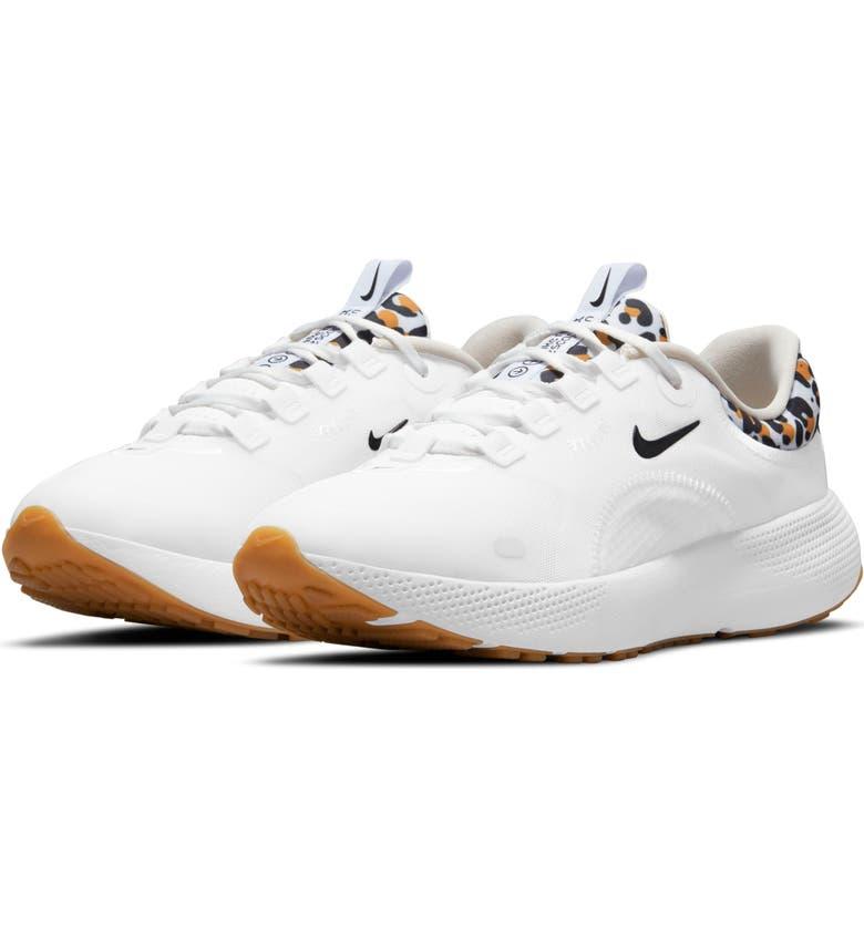 NIKE React Escape Run Running Shoe, Main, color, WHITE/ BLACK/ BONE/ WHEAT