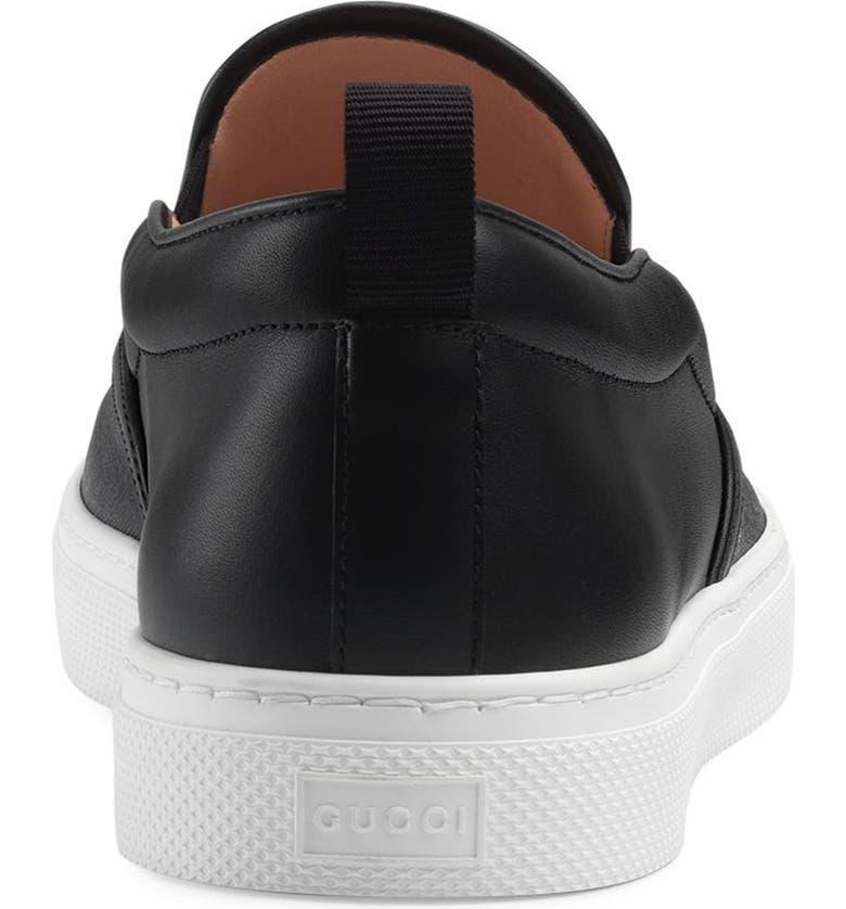 f5e0aa421 Gucci Dublin Tiger Print GG Supreme Slip-On Sneaker (Men) | Nordstrom