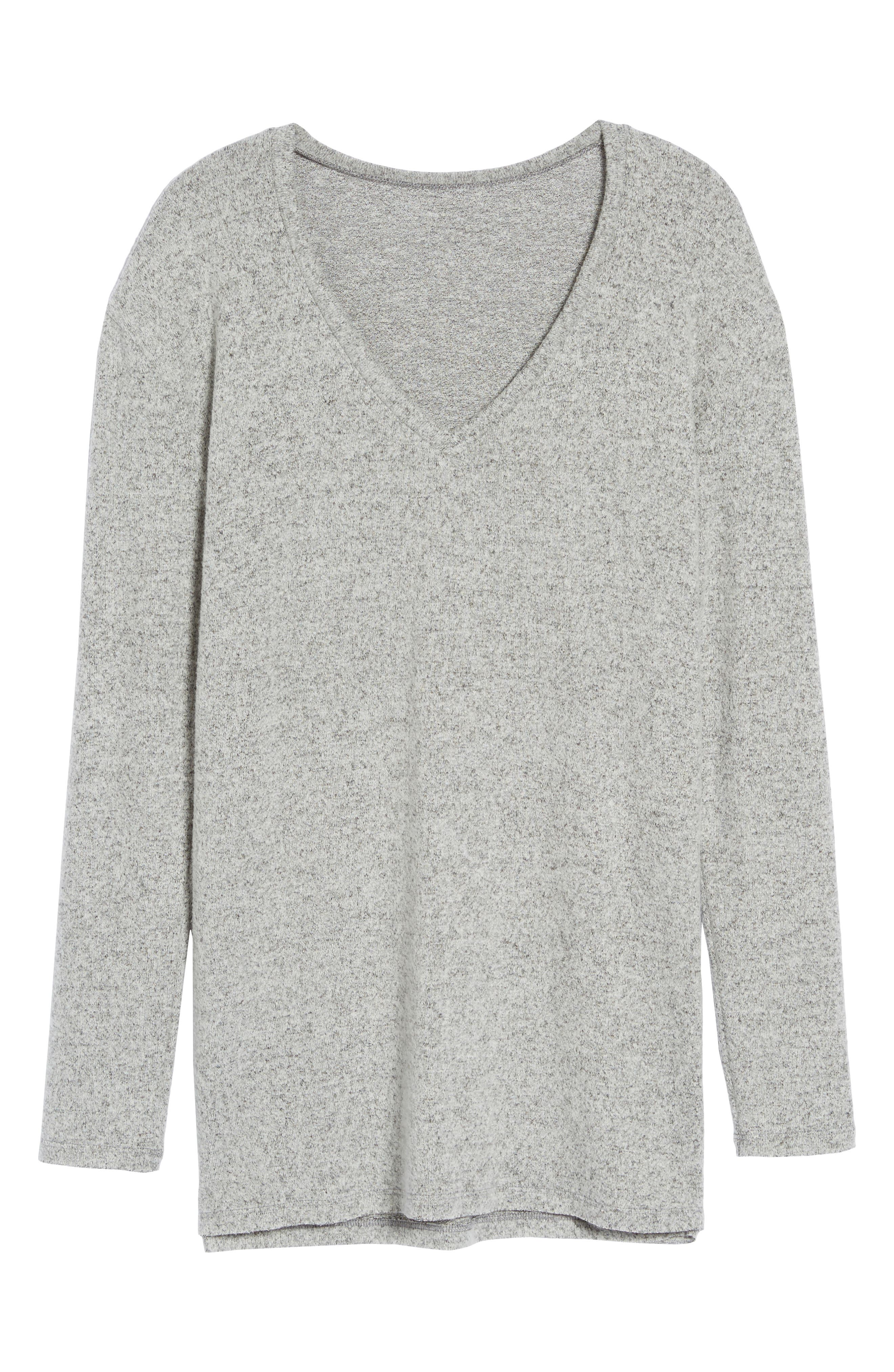,                             Cozy V-Neck Sweater,                             Alternate thumbnail 56, color,                             031