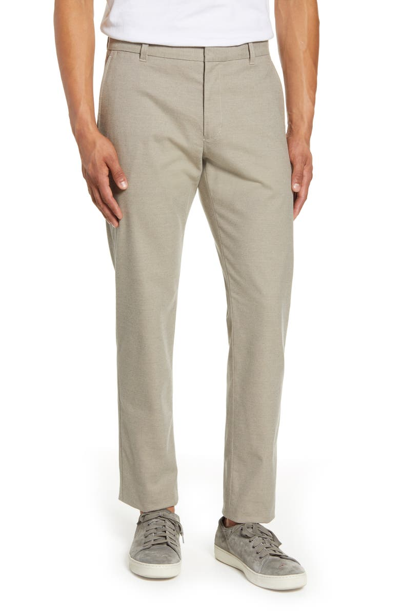 VINCE Griffith Regular Fit Chinos, Main, color, STONE KHAKI
