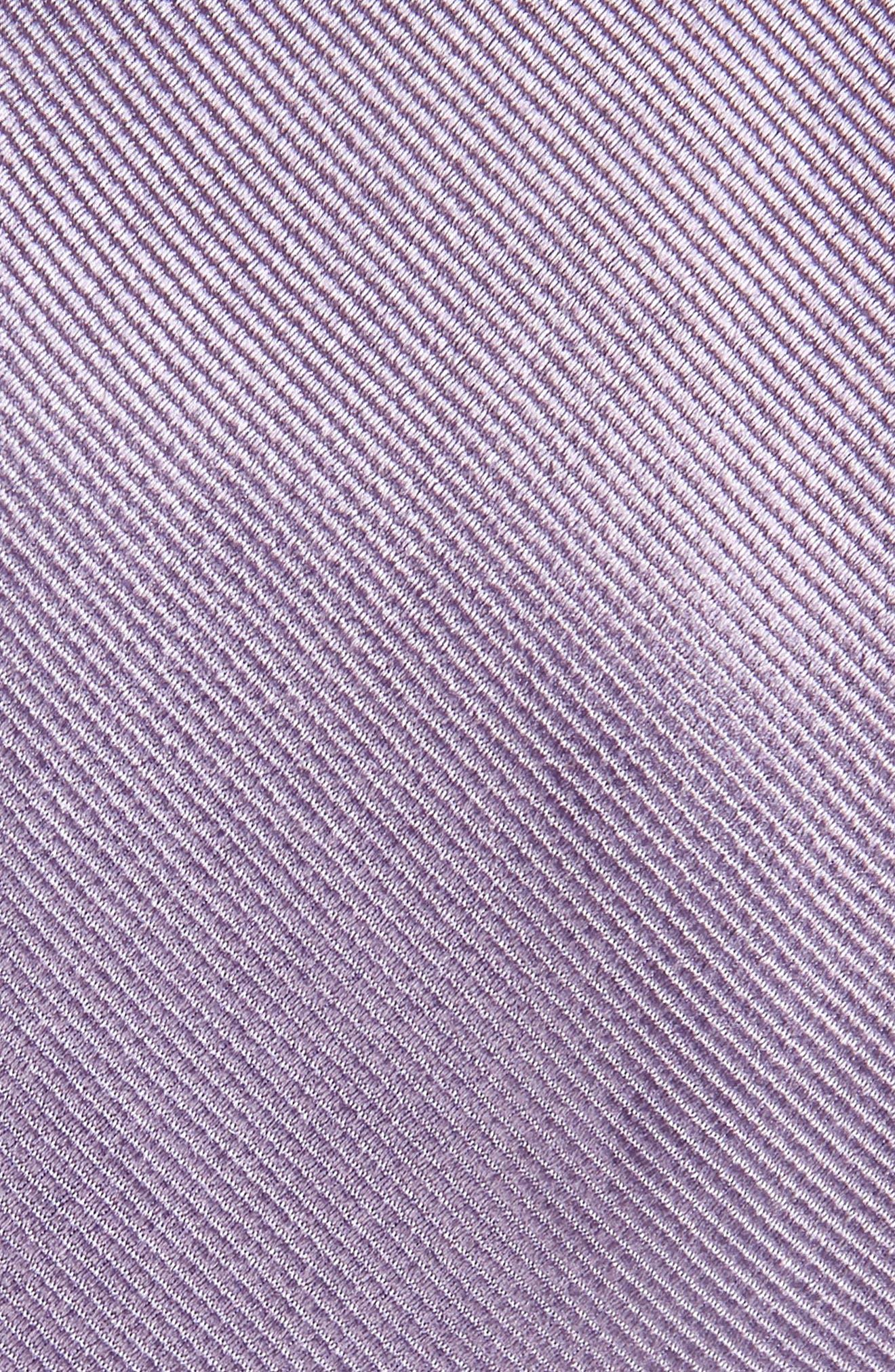 ,                             Solid Silk Skinny Tie,                             Alternate thumbnail 2, color,                             LAVENDER