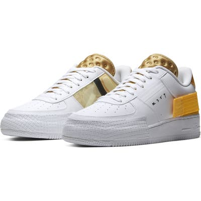 Nike Air Force 1 Low Type Sneaker, White