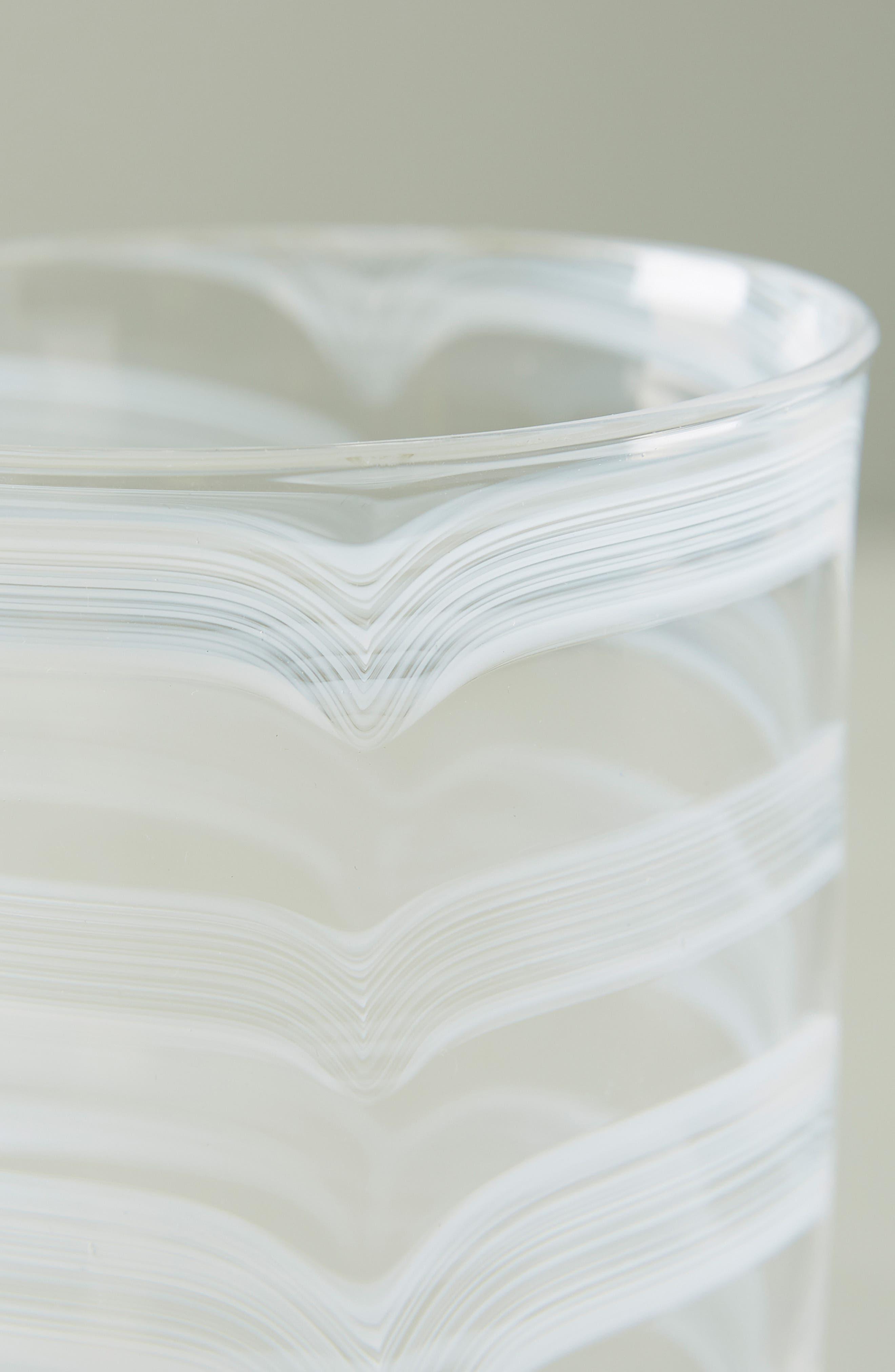 ,                             Lottie Set of 4 Highball Glasses,                             Alternate thumbnail 3, color,                             WHITE