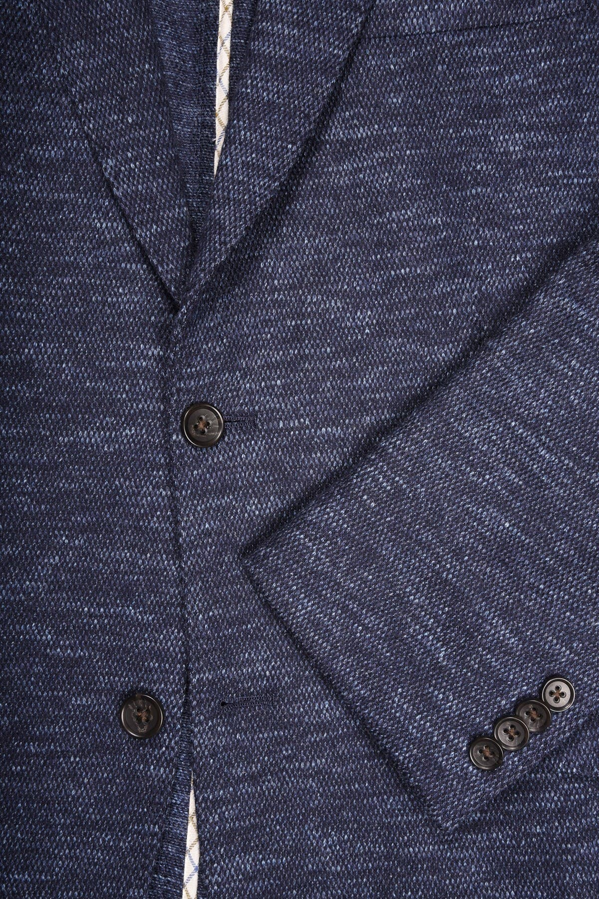 Image of FLYNT Blue Two Button Notch Lapel Soft Sport Jacket