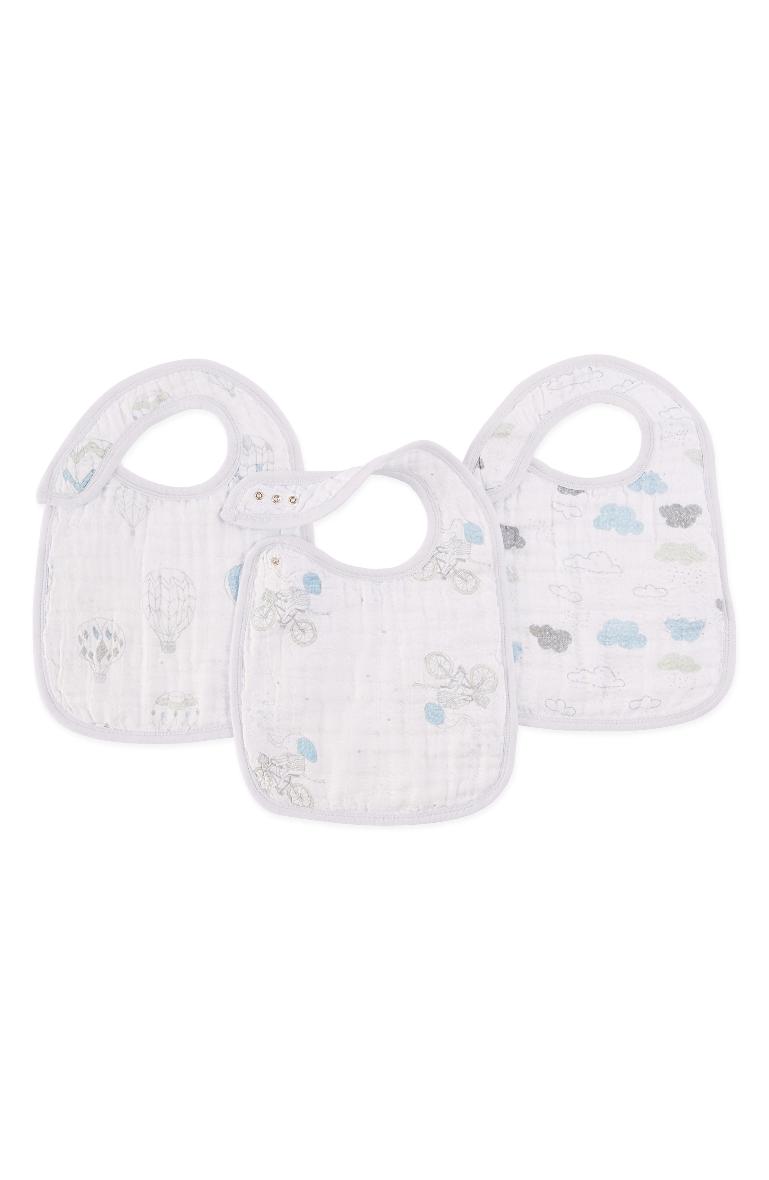 ,                             Classic Snap Bib,                             Main thumbnail 1, color,                             NIGHT SKY REVERIE