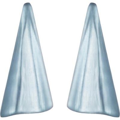 Alexis Bittar Wavy Fan Lucite Drop Earrings