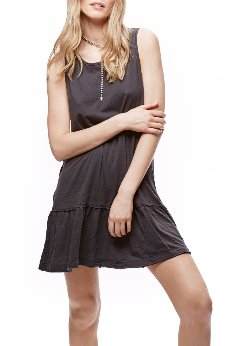 FREE PEOPLE Brittany Peplum Tunic, Main, color, 001