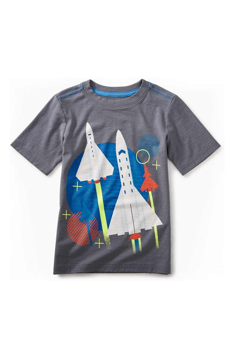 188ae3d82 Tea Collection Space Shuttle Graphic T-Shirt (Toddler Boys & Little ...