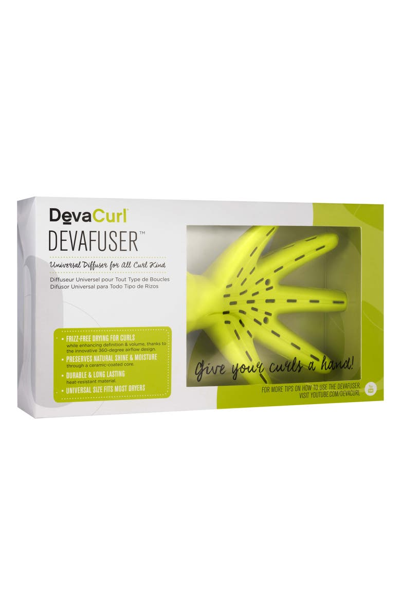 DEVACURL DevaFuser<sup>™</sup> Universal Diffuser for All Curl Kind, Main, color, NO COLOR