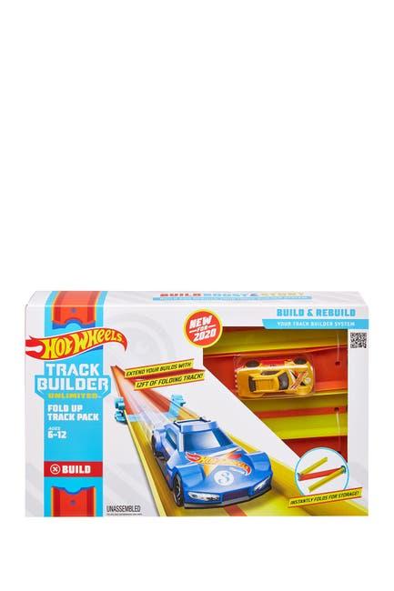 Image of Mattel Hot Wheels® Track Builder Unlimited Fold Up Track Pack