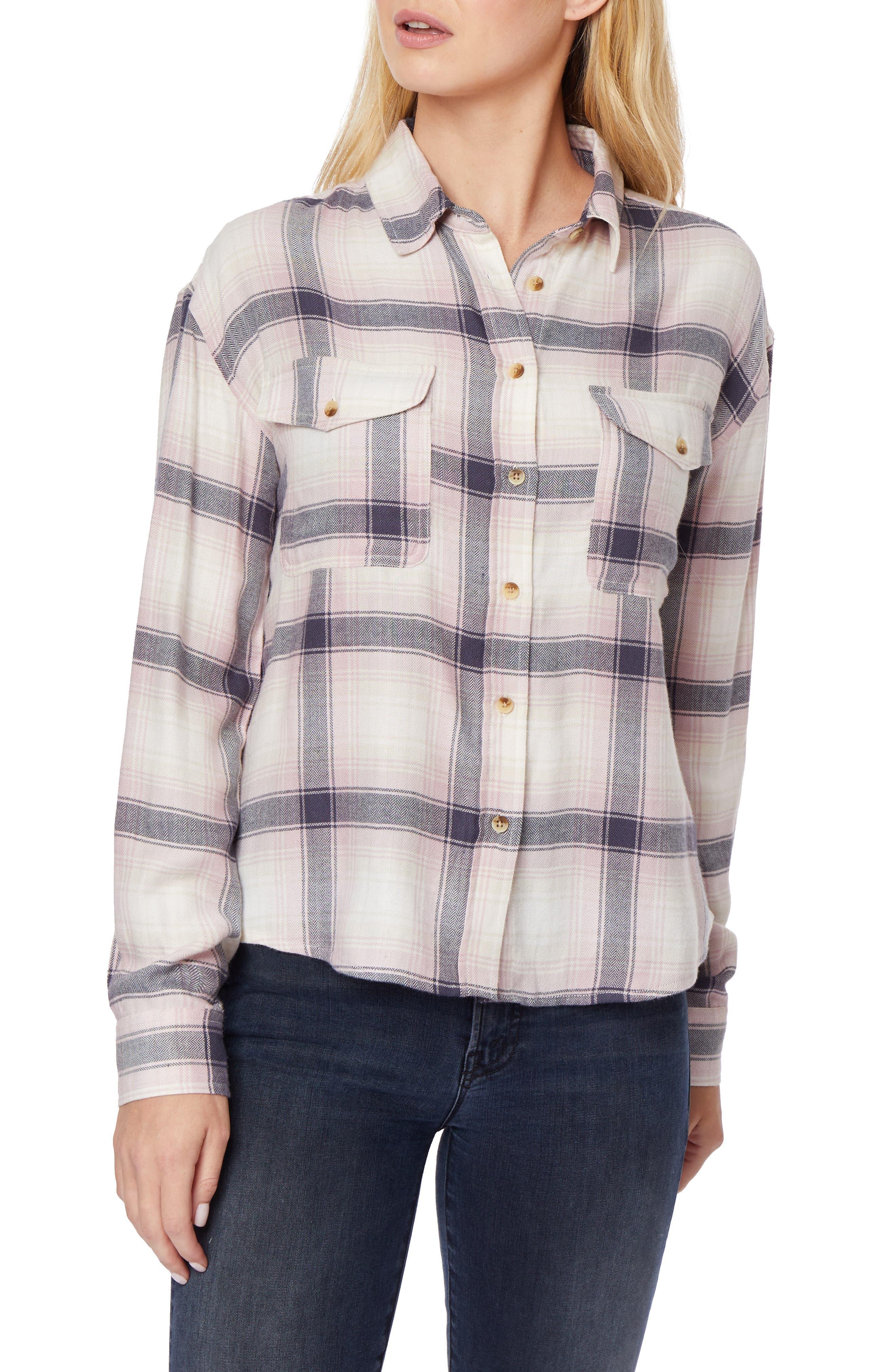 Shanna Plaid Work Shirt