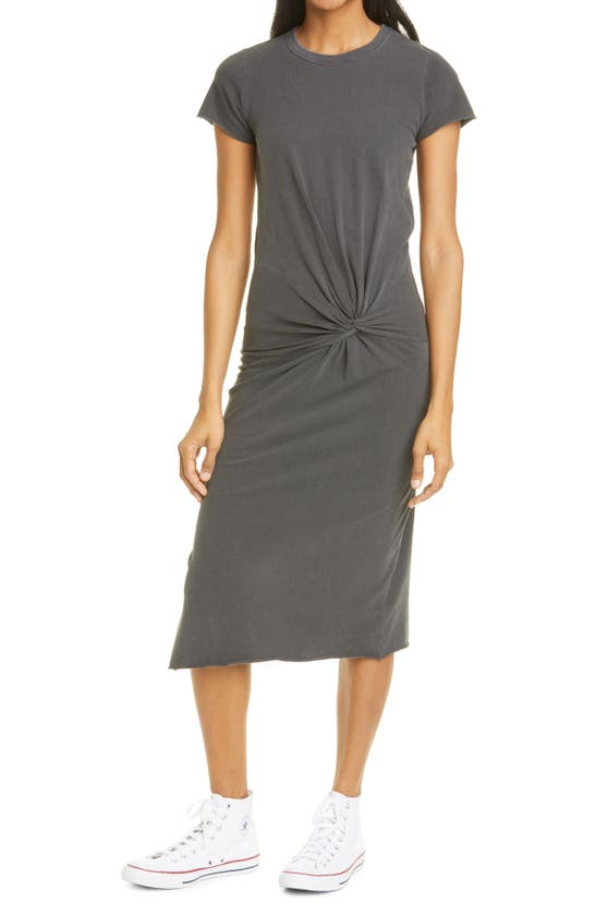 NSF CLOTHING Cottons ZELDA TWIST T-SHIRT DRESS