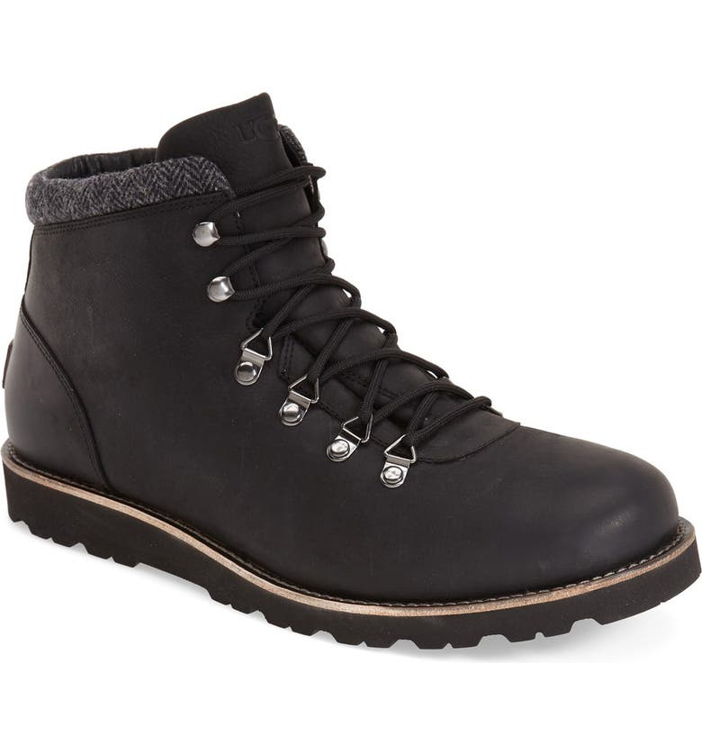 UGG<SUP>®</SUP> Boysen Waterproof Boot, Main, color, 001