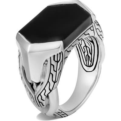 John Hardy Asli Classic Chain Signet Ring