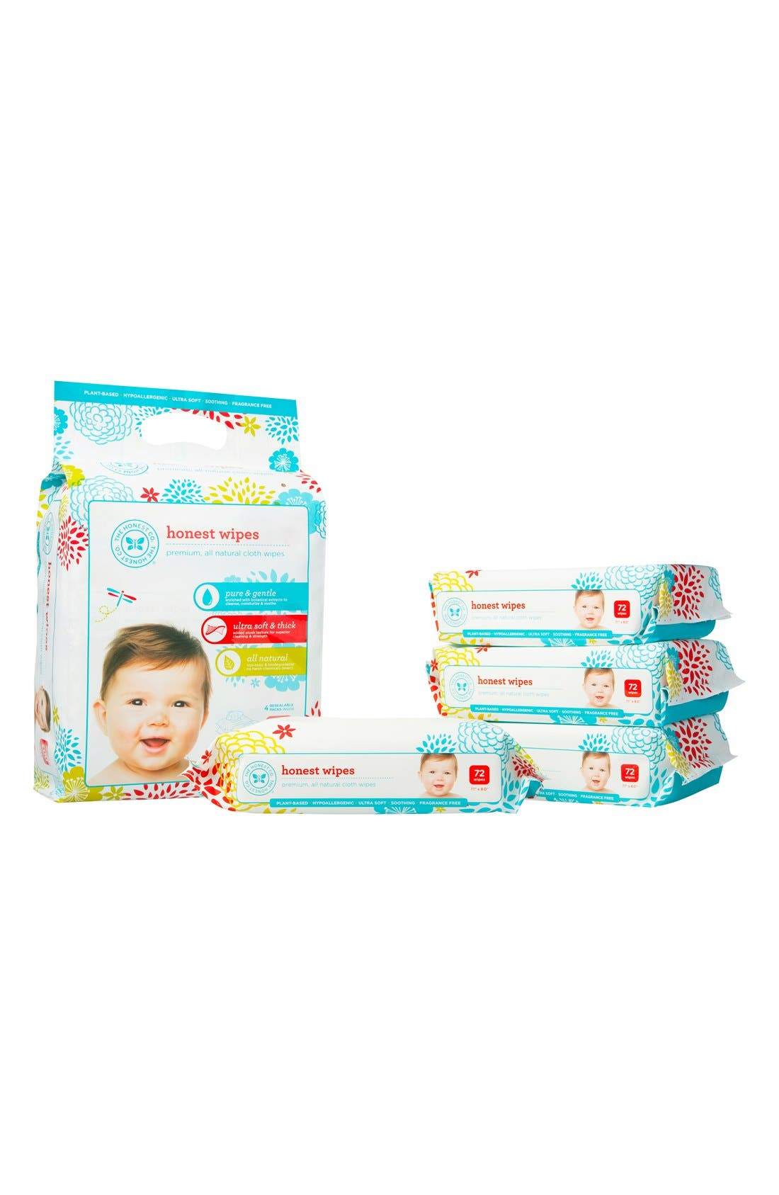 ,                             Cloth Baby Wipes,                             Alternate thumbnail 3, color,                             000