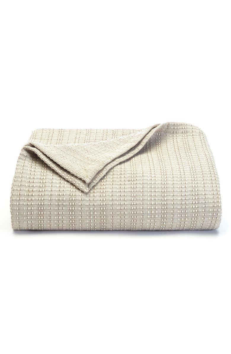 TOMMY BAHAMA Woven Blanket, Main, color, JUTE