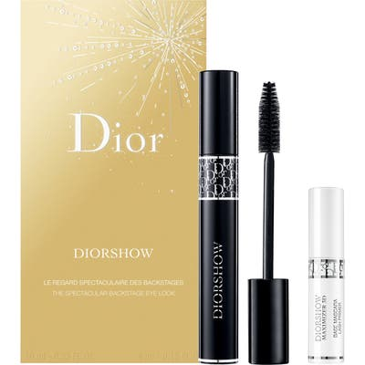 Dior Diorshow The Spectacular Backstage Eye Look Set - No Color