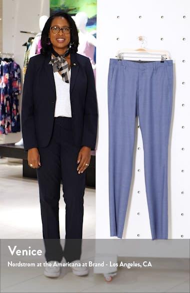 Jetsetter Slim Fit Stretch Wool Suit Pants, sales video thumbnail